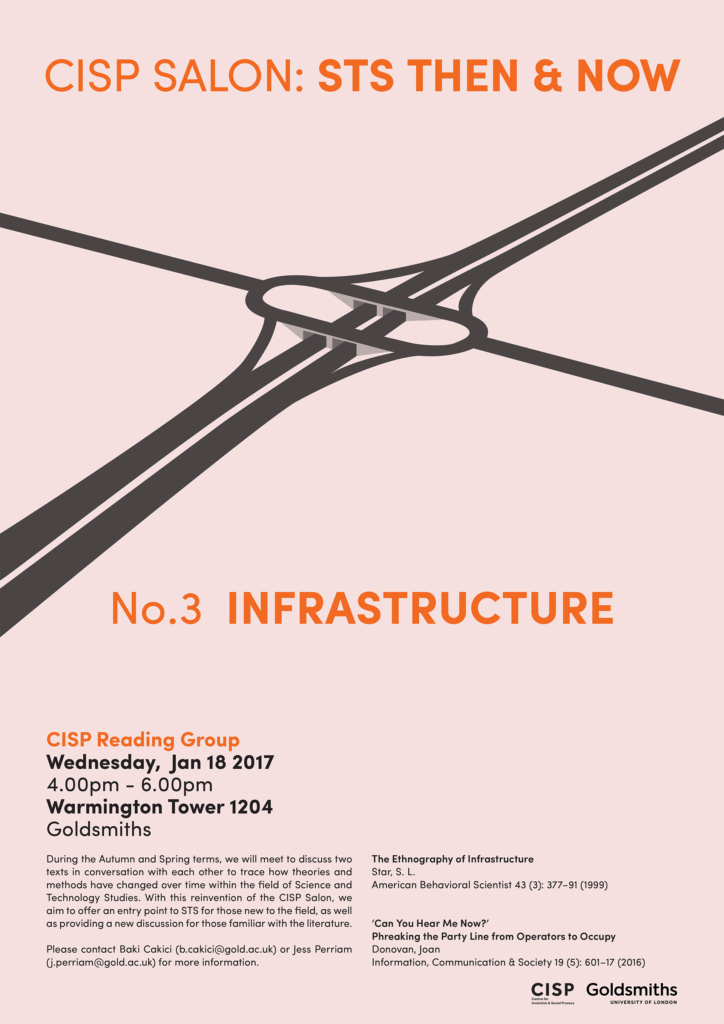 CISP Salon - Infrastructures